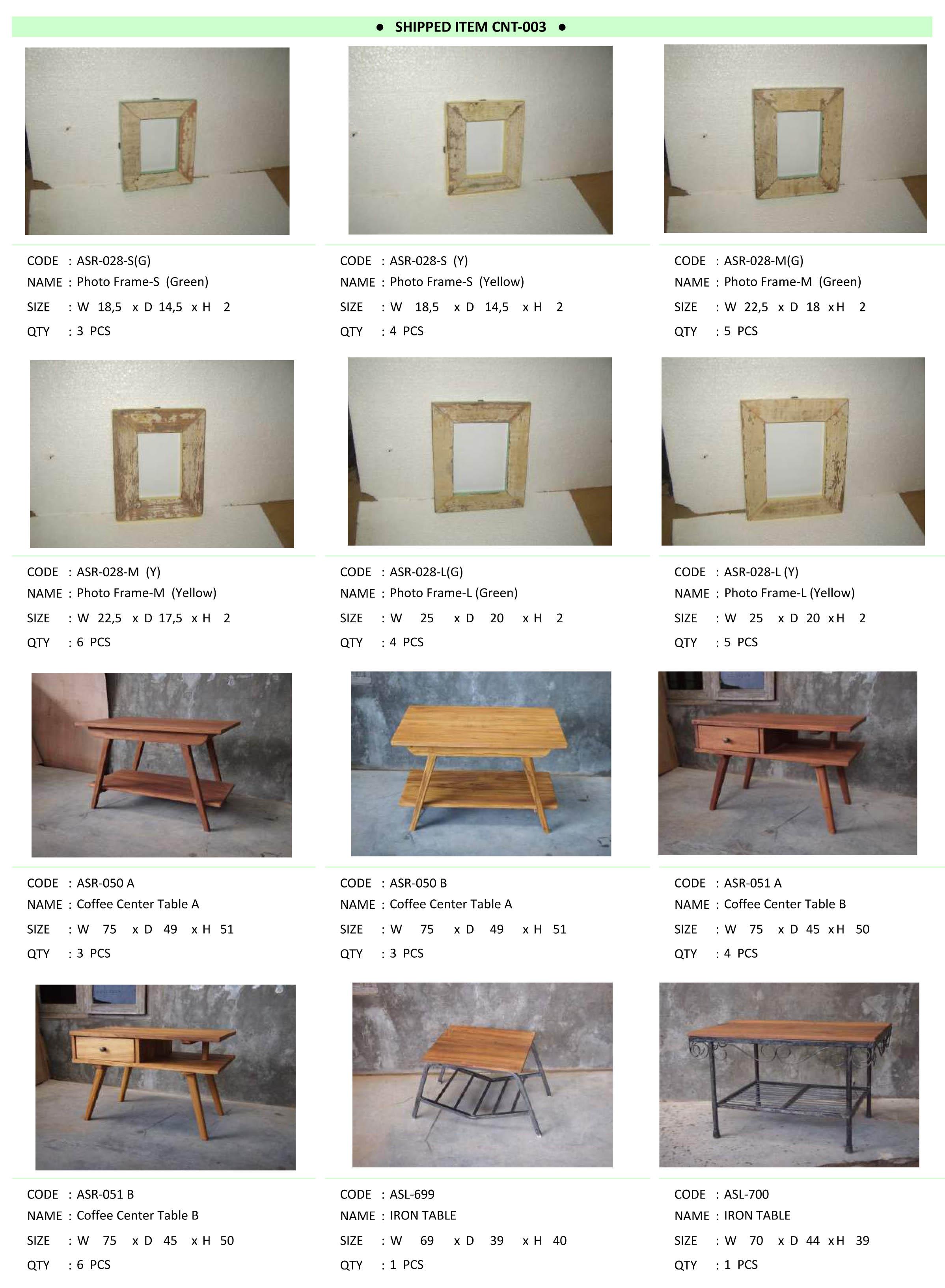 2015年2月入荷アンティーク家具一覧9
