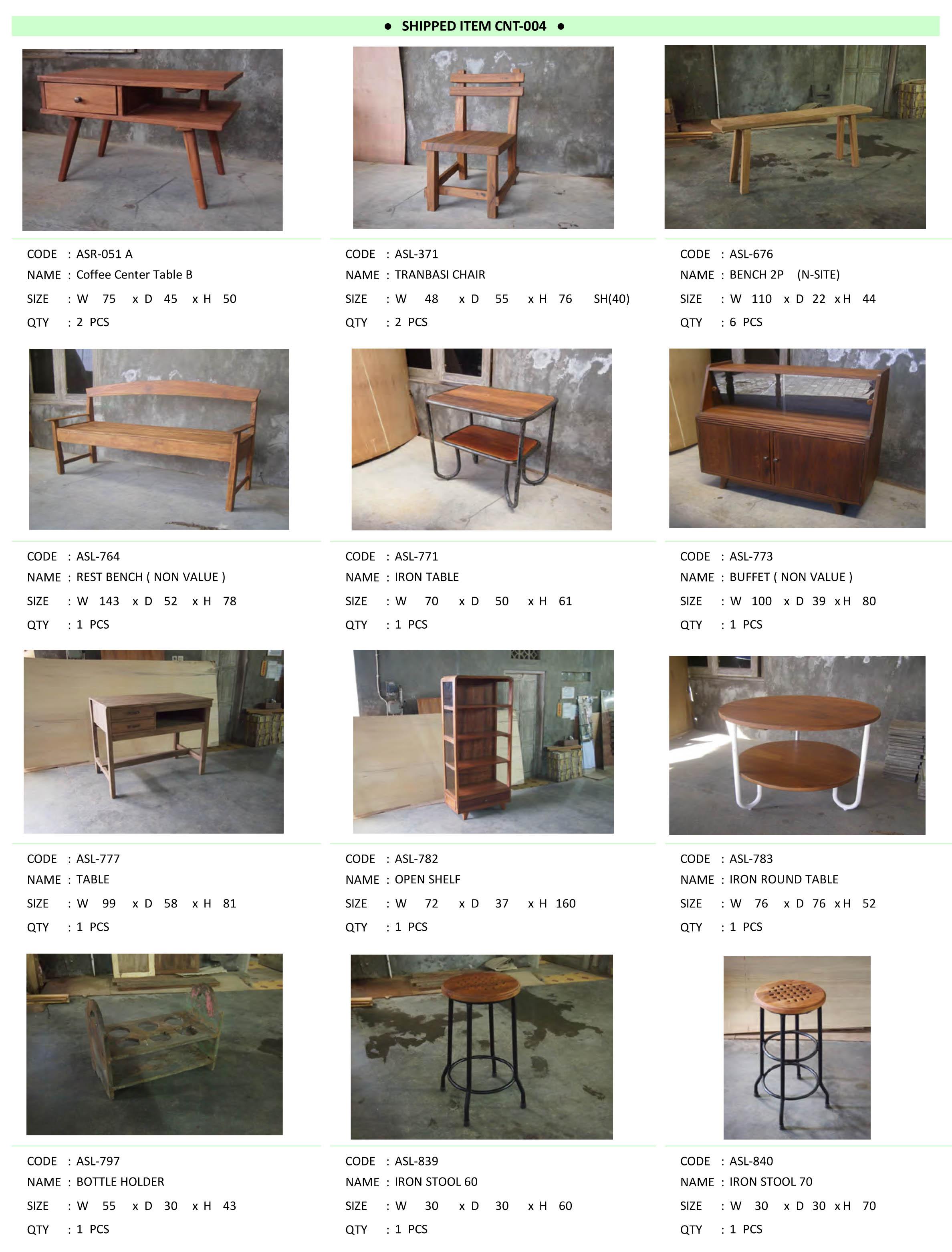 2015年4月入荷アンティーク家具一覧7
