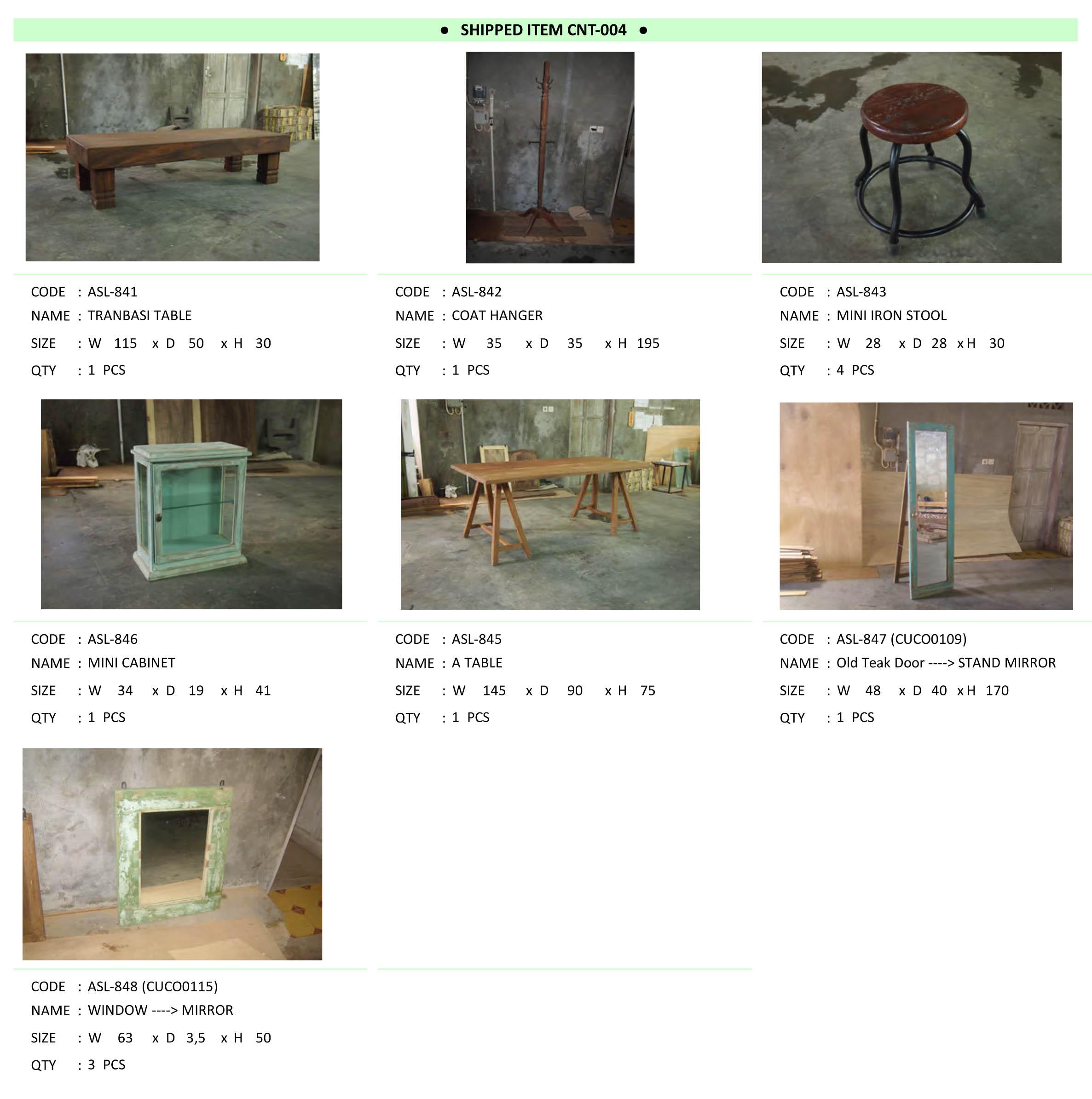 2015年4月入荷アンティーク家具一覧8