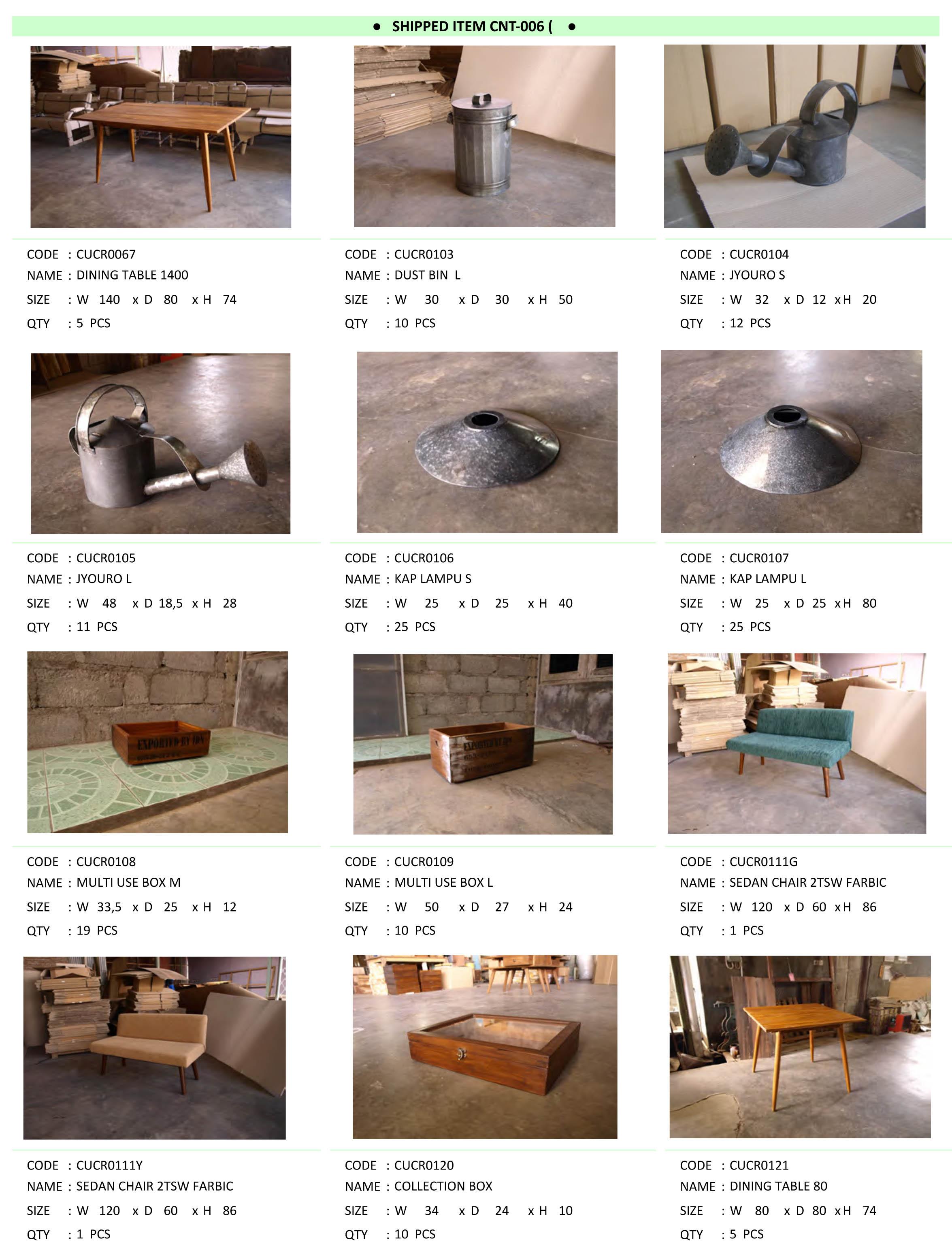 2015年9月入荷アンティーク家具一覧3