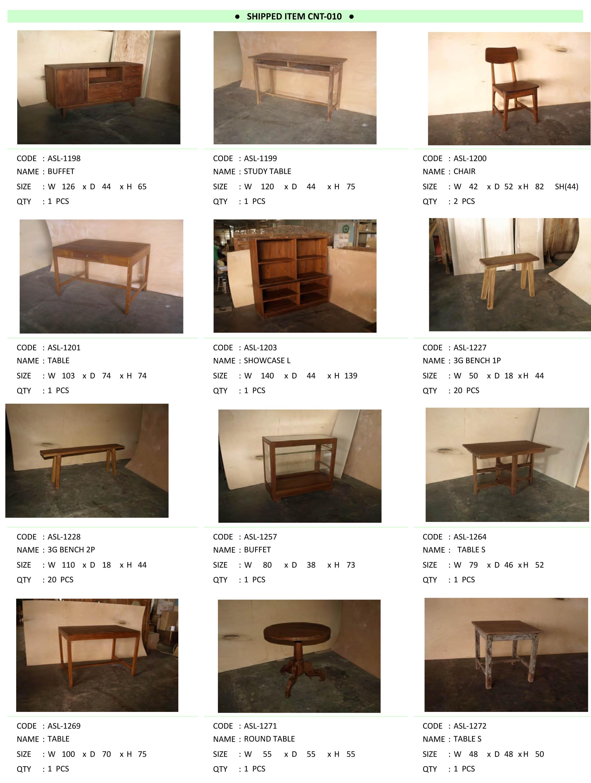 2016年5月入荷アンティーク家具一覧10