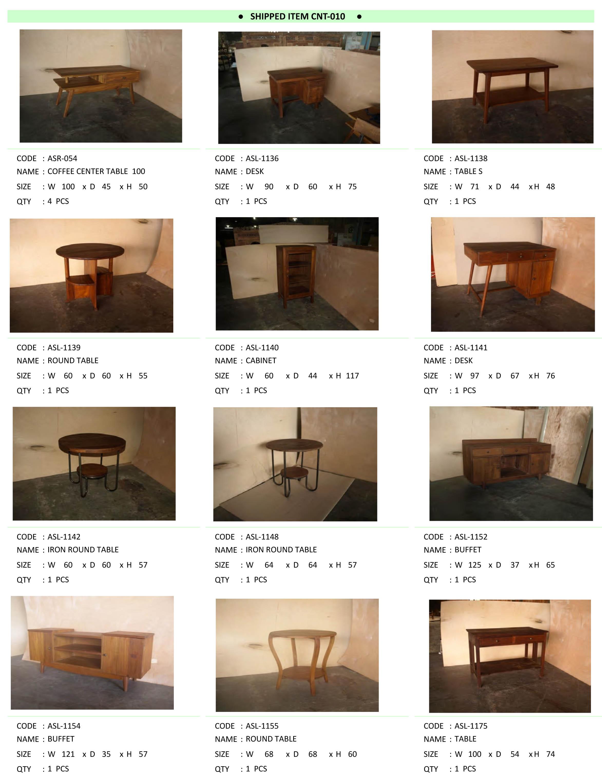 2016年5月入荷アンティーク家具一覧8