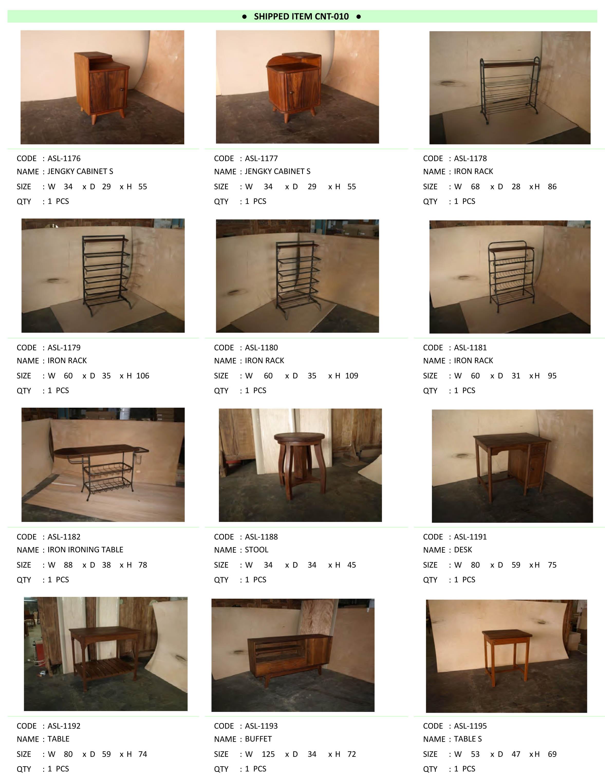 2016年5月入荷アンティーク家具一覧9