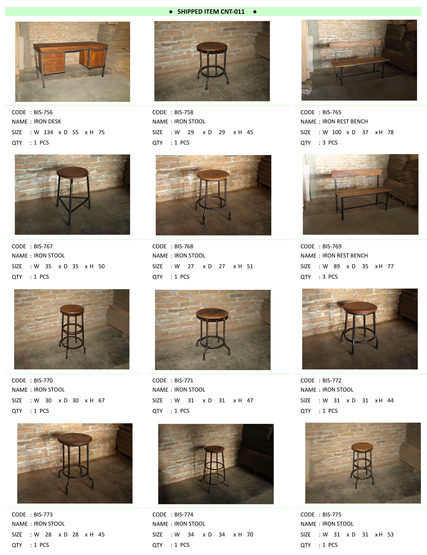 2016年6月入荷アンティーク家具一覧1