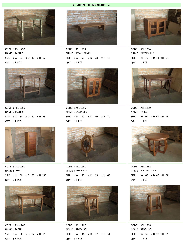 2016年6月入荷アンティーク家具一覧9